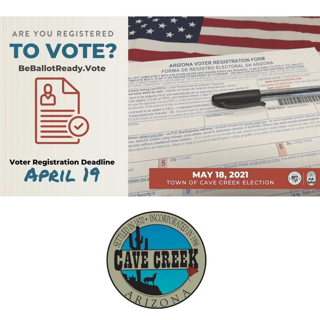 Register to Vote by April 19th